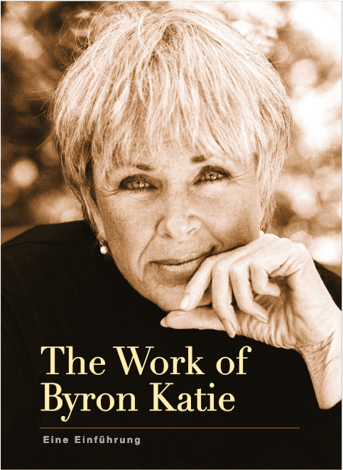 "Cover des Büchleins ""The work of Byron Katie, the little Book"""